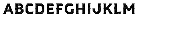 Dever Serif Halftone Bold Font LOWERCASE
