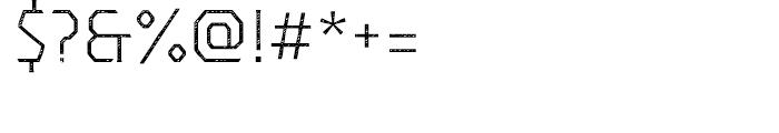Dever Serif Jean Light Font OTHER CHARS