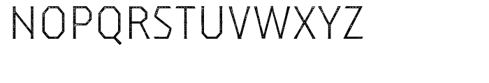 Dever Serif Jean Light Font UPPERCASE