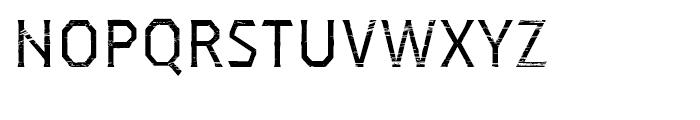 Dever Serif Wood Regular Font UPPERCASE
