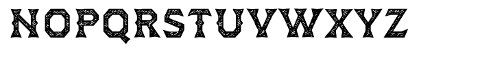 Dever Wedge Jean Medium Font LOWERCASE