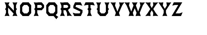 Dever Wedge Medium Font UPPERCASE