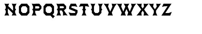 Dever Wedge Medium Font LOWERCASE