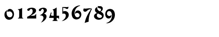 Devinne Regular Font OTHER CHARS