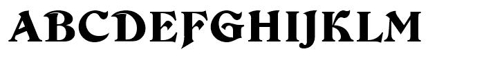 Devinne Regular Font UPPERCASE