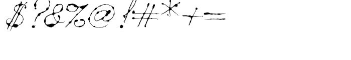 Dew Regular Font OTHER CHARS