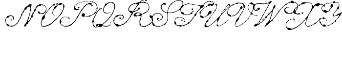 Dew Regular Font UPPERCASE