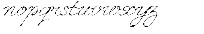 Dew Regular Font LOWERCASE