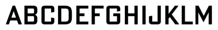DeLuxe Gothic Condensed Shortcaps Font UPPERCASE