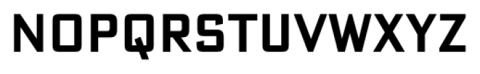DeLuxe Gothic Condensed Shortcaps Font LOWERCASE