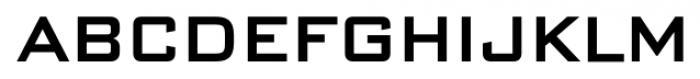 DeLuxe Gothic Shortcaps Font LOWERCASE