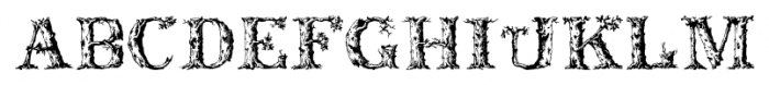 DeadWoodRustic Regular Font UPPERCASE