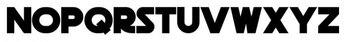 Death Star Regular Font LOWERCASE