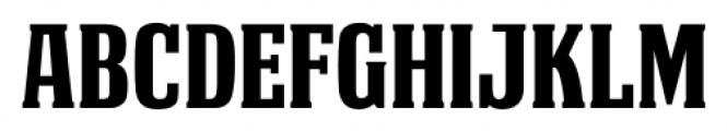 Deathe Maach  ENFORCE Font UPPERCASE