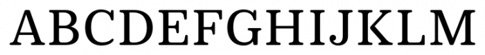 Deccan Medium Font UPPERCASE