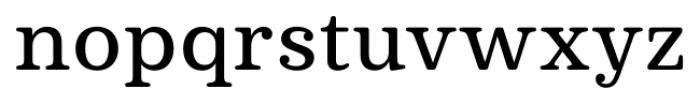 Deccan Medium Font LOWERCASE