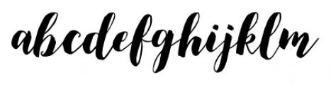 December Sparks Regular Font LOWERCASE