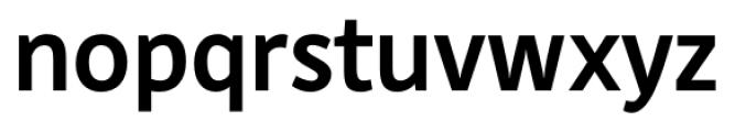 DejaRip Bold Font LOWERCASE