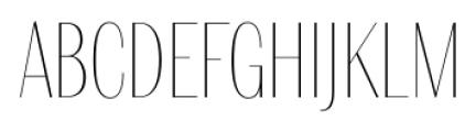 Delgado Sans Regular Font UPPERCASE