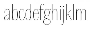 Delgado Sans Regular Font LOWERCASE