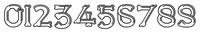 Dem Bones Regular Font OTHER CHARS