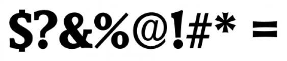 Derringer Serial Xbold Font OTHER CHARS