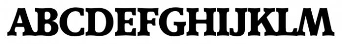 Derringer Serial Xbold Font UPPERCASE
