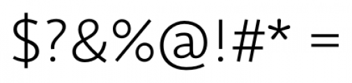 Deva Ideal Light Font OTHER CHARS