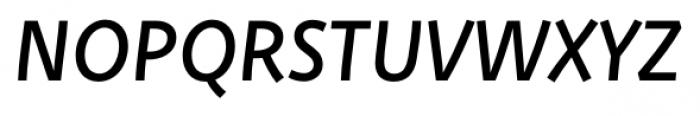 Deva Ideal Regular Italic Font UPPERCASE