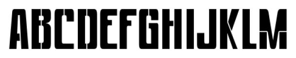 Devama SRF Regular Font UPPERCASE