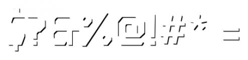 Dever Sans Accent Regular Font OTHER CHARS