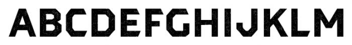 Dever Sans Halftone Bold Font LOWERCASE
