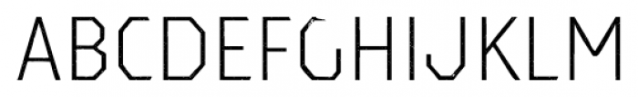 Dever Sans Halftone Light Font UPPERCASE