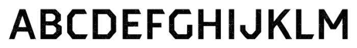 Dever Sans Halftone Medium Font LOWERCASE