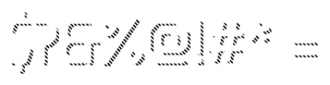Dever Sans Line Light Font OTHER CHARS