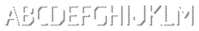 Dever Sans Line Light Font UPPERCASE