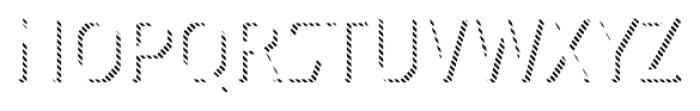 Dever Sans Line Light Font LOWERCASE