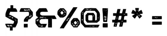 Dever Sans Print Bold Font OTHER CHARS