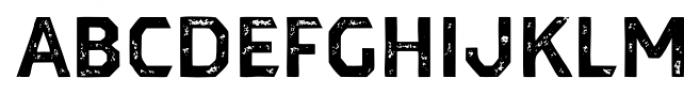 Dever Sans Print Bold Font UPPERCASE