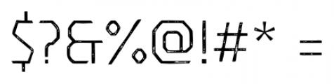 Dever Sans Print Light Font OTHER CHARS