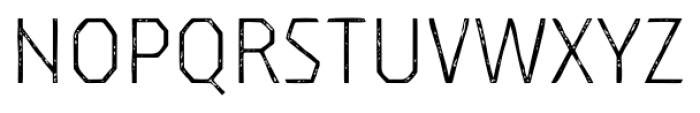 Dever Sans Print Light Font UPPERCASE