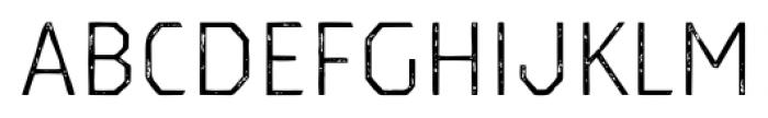 Dever Sans Print Light Font LOWERCASE