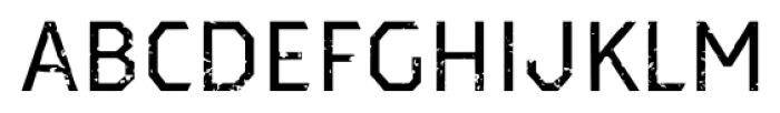 Dever Sans Rough Regular Font LOWERCASE