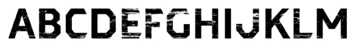 Dever Sans Wood Bold Font UPPERCASE