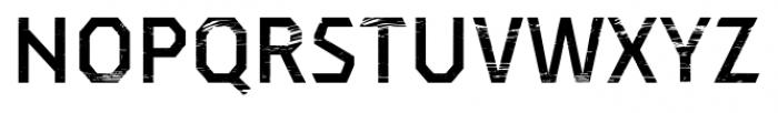 Dever Sans Wood Medium Font UPPERCASE