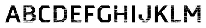Dever Sans Wood Medium Font LOWERCASE