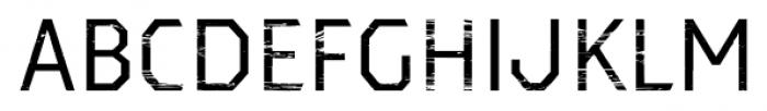 Dever Sans Wood Regular Font UPPERCASE