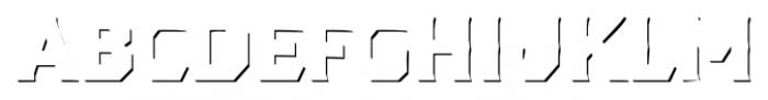 Dever Serif Accent Bold Font UPPERCASE