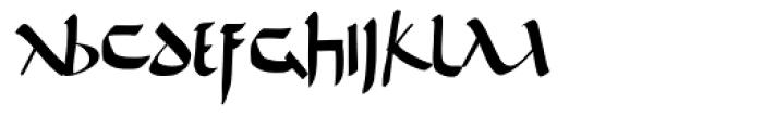De Bellis Font UPPERCASE