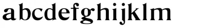 De Vinne Regular Font LOWERCASE